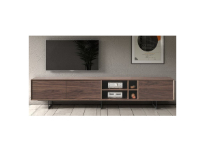 ТВ-тумба DUPEN TV-130 walnut